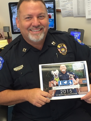 2015 Calendar Features FB Police and their Pets
