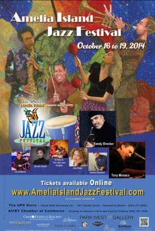 2014 Amelia Island Jazz Festival Schedule