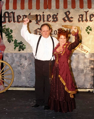 Sweeney Todd Opens October 9th at Amelia Musical Playhouse