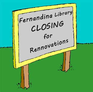 Fernandina Library to Close for Renovation
