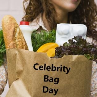 Celebrity Bag Day at Publix