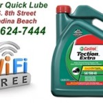 Five Star Quick Lube Uses Castrol Exclusively