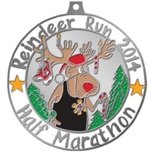 Whimsical Reindeer Run Half Marathon and 5K