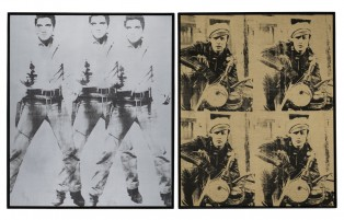 Silk screens that went for $82m and $70m each.