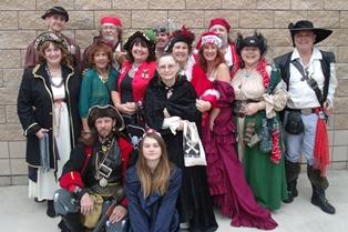 Finding Pirates at Christmas in Fernandina Beach