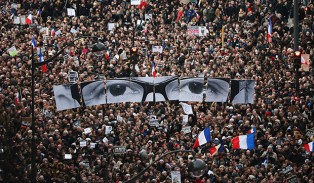 Paris Protests against Muslim Terrorism