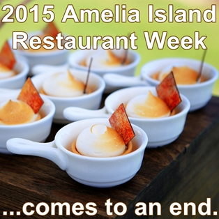 Amelia Island Concludes Restaurant Week with Finale Dinner