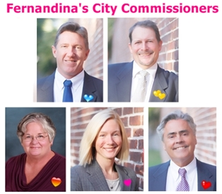 February 17, 2015 Meeting of Fernandina Commissioners