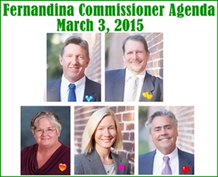 March 3, 2015 Commissioner Agenda