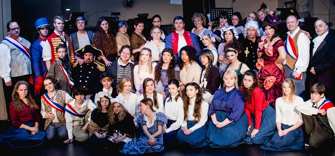 Les Miserables at Amelia Musical Playhouse