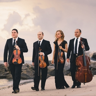 Amernet String Quartet Performs as Part of Chamber Music Festival