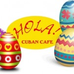 Hola Cuban Cafe Hosts Egg Hunt in Fernandina