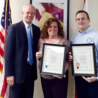 Property Appraiser Employees Receive Certification