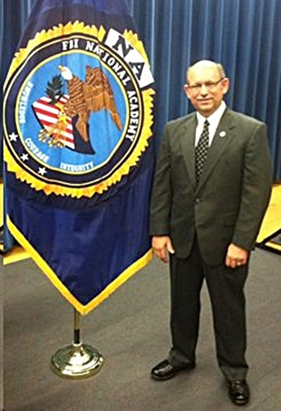 Police Captain David Bishop Graduates from FBI in Quantico