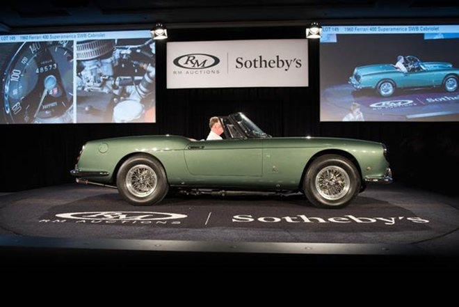 RM Southeby's Auction Breaks $60 Million at Amelia Island