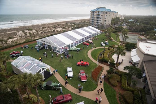 Ocean Front Lawn at RM Sotheby's 2015 Amelia Island