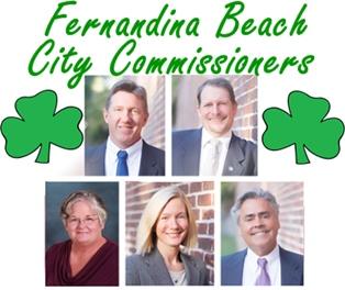 Fernandina Commissioner Agenda for St. Patrick's Day, 2015