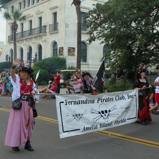2015 Pirate Parade Features Shrimp, Pirates and Fun for All