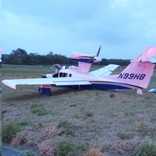Rough Landing at Fernandina's Airport