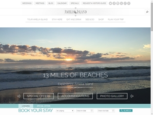 Amelia Island Named Best Travel Website of the Year by Developer
