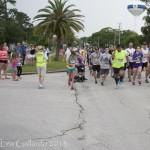 Runners shine, even in the rain