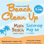 Beach Clean Up on Amelia Island May 30th