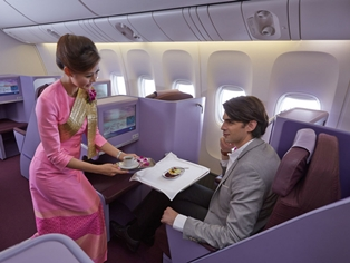 Get Discounts on Business Class Flights to Bangkok
