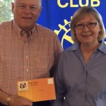 Theatre Director Visits Rotary Sunrise
