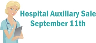 Hospital Auxilary Sale September 11, 2015