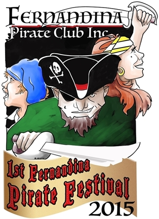 Inaugural Fernandina Pirate Festival Logo Winners Announced