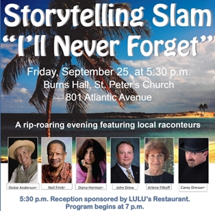 2nd Annual Amelia Island Storytelling Slam