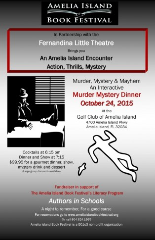 First Annual Murder Mystery Dinner to Support Authors in Schools
