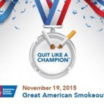 Great American Smokeout is November 19, 2015