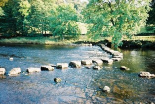Stepping stones for life's balancing act
