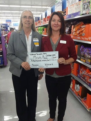 Fernandina Walmart Awards Grant to Micah's Place