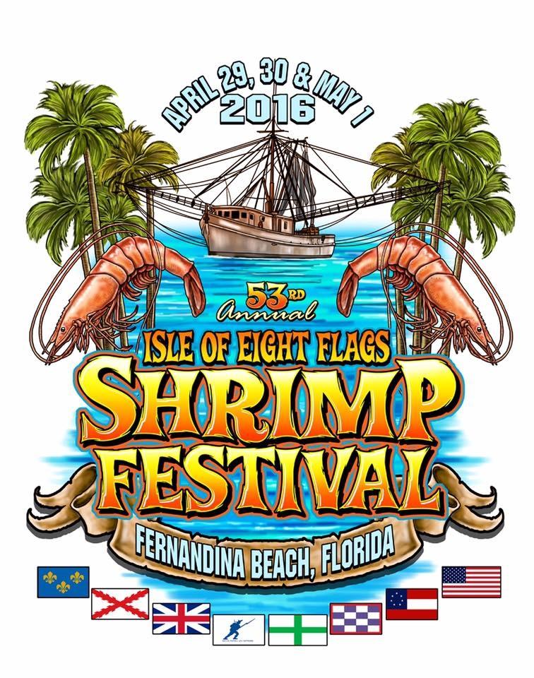 Who designed the 2016 shrimp festival t shirt for T shirt design festival