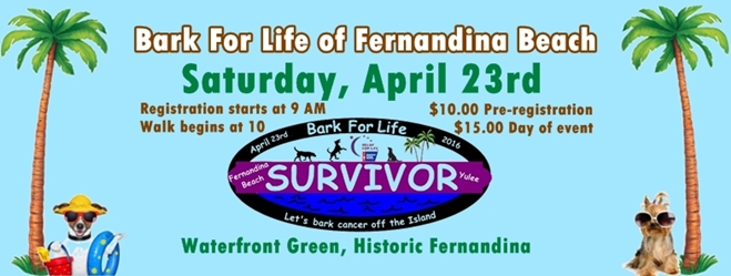 Bark for Life in Historic Fernandina Beach