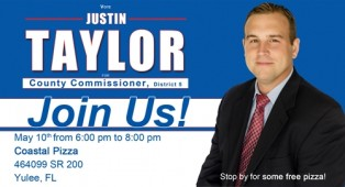 Justin Taylor Meet & Greet at Coastal Pizza