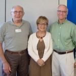 Mark Kaufman and Donna Paz Kaufman Present to Rotary