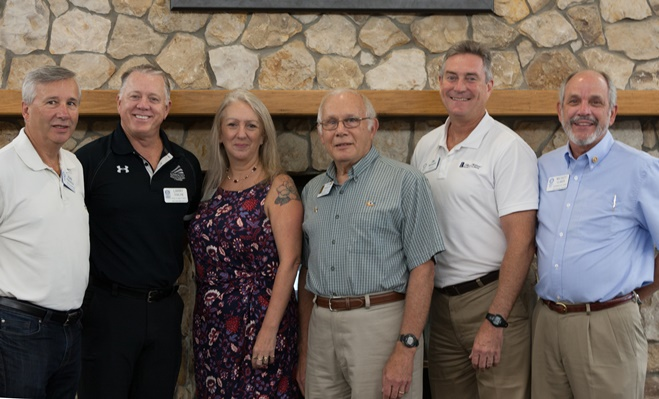 Rotary Amelia Island Sunrise has New Officers