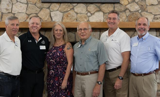 Rotary Amelia Island Sunrise has New Officers