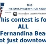 2019 Fernandina Historic Presevation Awards