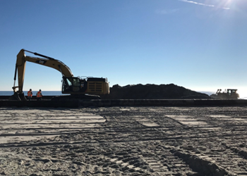 Beach Construction for Renourishment Program