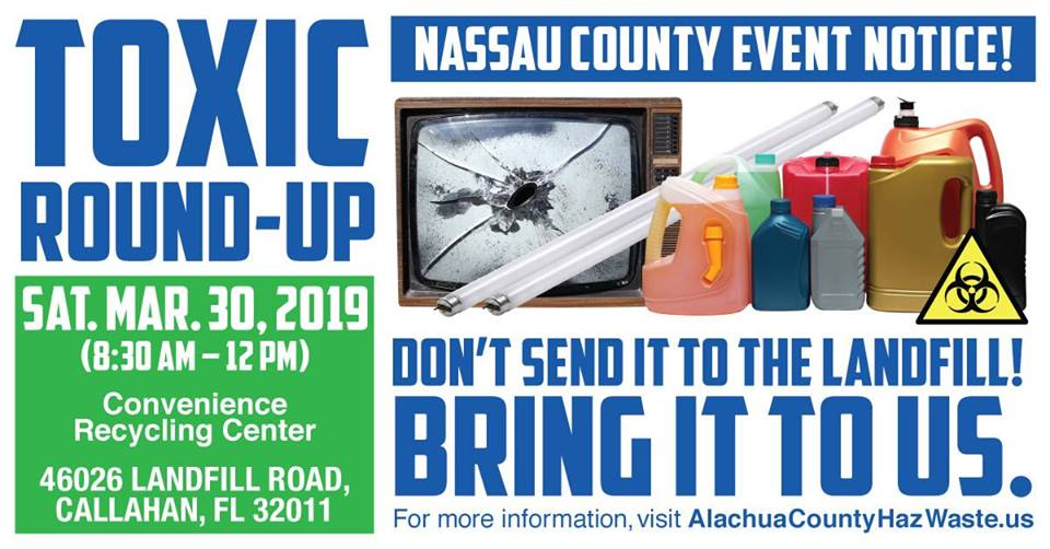 Nassau Toxic Round-up @ Convenience Recycling Centre