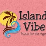 Island Vibe logo on pink background