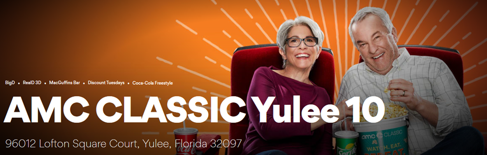 yulee theater header