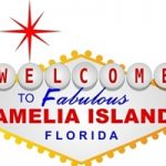 welcome to amelia island spoof sign