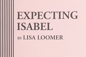 playbill cover Expecting Isabel