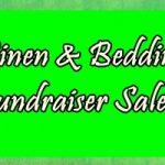 linen sale sign