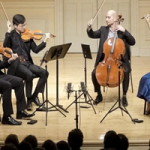 Dover String Quartet with Cellist Christopher Rex in Concert